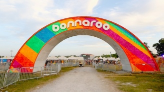 The Iconic Bonnaroo Arch Has Been Destroyed In A Fire