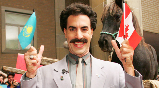 Sacha Baron Cohen Says 'Borat' Split Up Pamela Anderson ... Sacha Baron Cohen Spouse