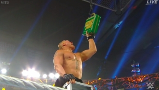 Brock Lesnar Made A Shocking Return To WWE At Money In The Bank