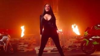 DJ Khaled, Cardi B, And 21 Savage Bring The Heat In Their Pyrotechnics-Filled 'Wish Wish' Video