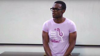 There's An In-Universe Explanation For Why Chidi Is So Ripped On 'The Good Place'