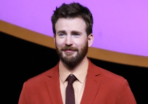 Chris Evans Roasted Himself By Posting His 'First Headshot,' And Marvel Fans Are Gleefully Piling On