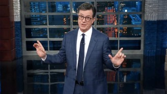 Stephen Colbert Compares Trump Bragging About 2016 Election Ratings To Daenerys On 'Game Of Thrones'