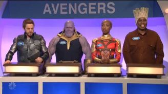 The 'SNL' Cold Open Pitted The Avengers Against 'Game Of Thrones' In 'Family Feud'