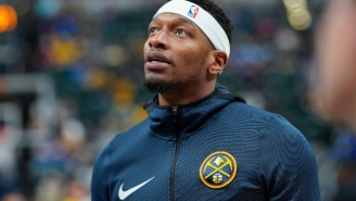 Torrey Craig Left The Blazers-Nuggets Game Bleeding Profusely After A Scary Collision (UPDATE)