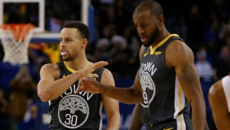 The NBA Vehemently Denied Nick Wright's Conspiracy Theory On The 2015 Finals MVP Voting