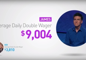 'Jeopardy!' Has An Official Breakdown Of How James Holzhauer Matches Up With Ken Jennings