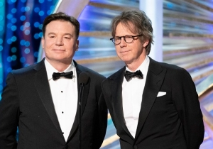 Dana Carvey Has Forgiven Mike Myers For Apparently Stealing His Lorne Michaels Impression For Dr. Evil