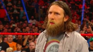 Daniel Bryan Finally Returned From Injury On Monday Night Raw
