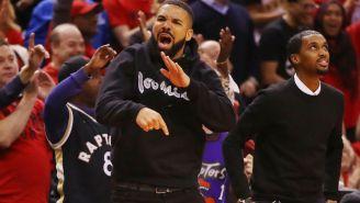 Drake Wore Tupac's Hoodie From 'Above The Rim' To Bucks-Raptors Game 6