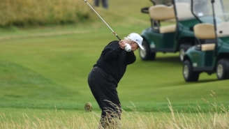 Donald Trump Won His Golf Course's Championship After Allegedly Stealing A Child's Ball