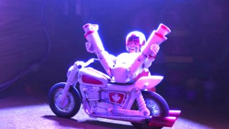 The New 'Toy Story 4′ Trailer Gives The Spotlight To Forky And Keanu Reeves' Canadian Daredevil Toy