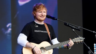 Ed Sheeran Released A Solo Acoustic Version Of His Pop Hit 'I Don't Care'