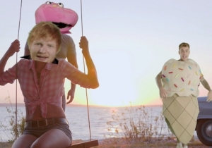 Ed Sheeran And Justin Bieber Go On A Green Screen Trip In Their Playful 'I Don't Care' Video