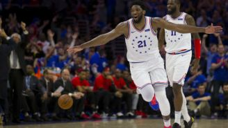 Joel Embiid Told Drake The Sixers Would Be 'Back' In Toronto For Game 7