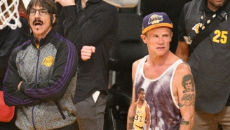 Red Hot Chili Peppers Bassist Flea Thinks The Lakers Days Of Being The NBA's 'Crown Jewel' Are 'Gone'