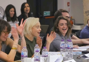 The First Trailer For The 'Game Of Thrones' Documentary Offers A Sneak Peak At The Show's Last Table Read
