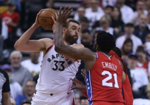 Joel Embiid Explained His Emotional Embrace With Marc Gasol After Game 7