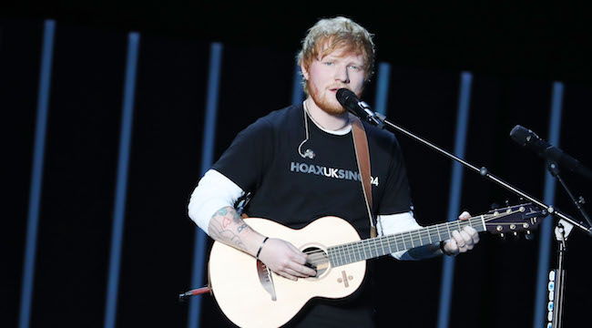 Ed Sheeran's Music Is More Popular Than Hymns At UK Funerals