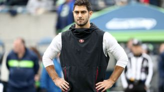 Jimmy Garoppolo Talks His Rehab, The 2019 Season And Tom Brady's Derby Hat