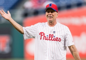 Bruce Willis Got Booed By Phillies Fans After He Bounced A Ceremonial First Pitch