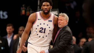 Joel Embiid Called Rumors About Brett Brown's Job Security 'Bulls*it'