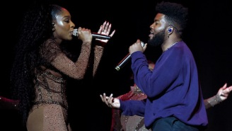 Normani Brought Out Khalid And 6lack For A 'Sweetener' Los Angeles Show