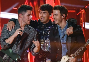 The Jonas Brothers Made Their Triumphant 'SNL' Return — And Played A Throwback Surprise