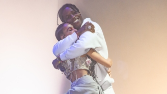 FKA Twigs Brought Out ASAP Rocky To Perform 'F*kk Sleep' In New York
