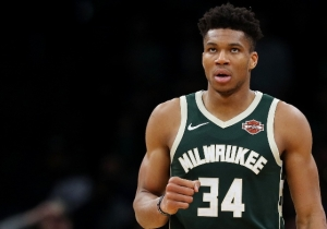 Giannis Antetokounmpo Thanks Kawhi Leonard And Marc Gasol For Making Him Better In Defeat
