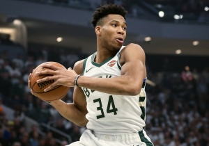 Giannis Antetokounmpo's Nike Zoom Freak 1 Apparently Has A Late June Release Date