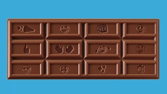 Hershey's Redesigns Their Iconic Chocolate Bar For The First Time In 125 Years To Honor The Mighty Emoji