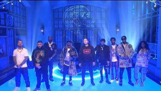 DJ Khaled, SZA, Meek Mill And John Legend Rocked 'SNL' With A Nipsey Hussle-Homaging Medley Performance