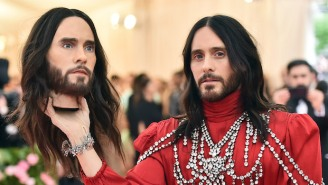 Jared Leto Carrying A Replica Of His Head At The Met Gala Freaked Out Twitter