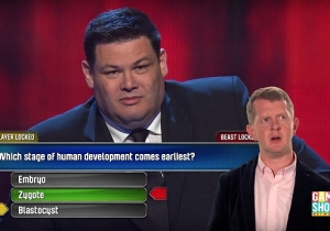Watch Ken Jennings Comment On 'Jeopardy!' Champion James Holzhauer's Other Game Show Appearance