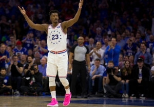 Jimmy Butler Honored Tyus And Tre Jones' Mother's Battle Against Breast Cancer During Game 3