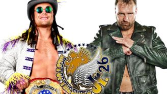 Jon Moxley's First Post-WWE Match Is Now Officially For A NJPW Championship