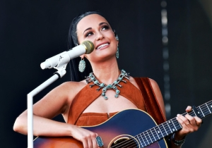 Kacey Musgraves Drank Tequila Out Of A Glass Slipper On Stage In Australia