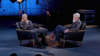 Kanye West Discusses His Mental Health With David Letterman In A New Interview Clip