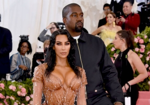 Kim Kardashian Shared The First Photo Of Her And Kanye West's Son Psalm