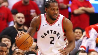Kawhi Leonard's Free Agency Will Reportedly Be A 'Raptors-Clippers Fight'