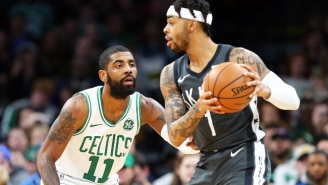 The Nets Might Be Intrigued By Pairing Kyrie Irving And D'Angelo Russell In The Backcourt