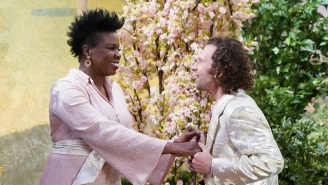 Leslie Jones And Kyle Mooney Take Things To The Next Level In A Surreal 'SNL' Sketch