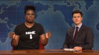 Leslie Jones Tore Into Alabama's Draconian Abortion Laws On 'SNL' Weekend Update