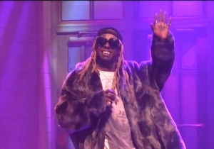Watch DJ Khaled Run Through An Epic Medley Of 'Father Of Asahd' Singles On 'SNL' With Lil Wayne And More