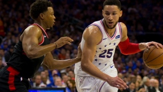 Kyle Lowry Says Ben Simmons Apologized At Halftime For Elbowing Him In The Groin