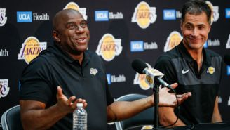 Rob Pelinka Has Responded To Magic Johnson's Accusations Of 'Backstabbing' Him While With The Lakers