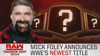 What New WWE Title Will Mick Foley Introduce On Raw?