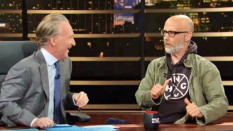 Moby Tells Bill Maher About The Time He Rubbed Himself On Donald Trump