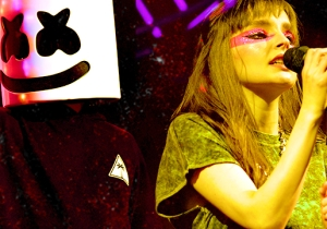 Here's What Happened After Chvrches Called Out Marshmello For Working With Chris Brown And Tyga